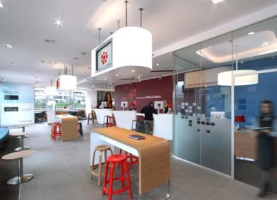 tttUnicredit Bank branch Interior Design